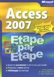Access 2007 (French Edition)
