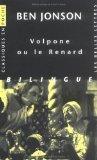 Volpone Ou Le Renard (Classiques En Poche) (French Edition)