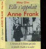 Elle s'appelait Anne Frank