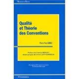 Qualité et théorie des conventions