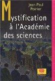 Mystification  l'Acadmie des sciences