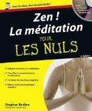Zen ! La mditation pour les Nuls (1CD audio) (French Edition)