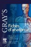 Gray's Fiches D'anatomie / Gray's Anatomy Sheets (French Edition)