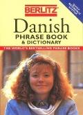 Danish Phrase Book - Berlitz Editors - Paperback - REV