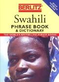 Swahili Phrase Book - Berlitz Editors - Paperback - REV