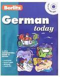 Berlitz German Today CD - Berlitz Publishing - Compact Disc - Book & 4 CDs