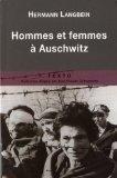 hommes et femmes  Auschwitz
