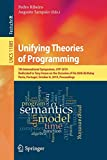 Unifying Theories of Programming: 7th International Symposium, UTP 2019, Dedicated to Tony H...