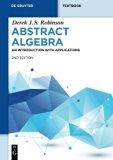 Abstract Algebra (De Gruyter Textbook)