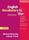 English Vocabulary in Use - Elementary. Edition with answers