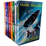 Mark Walden Collection HIVE Series 8 Books Bundle (Aftershock, Deadlock, Zero Hour, The Over...