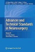 Advances and Technical Standards in Neurosurgery, Vol. 35: Low-Grade Gliomas. Edited by J. S...