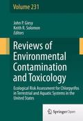 Reviews of Environmental Contamination and Toxicology : Ecological Risk Assessment for Chlor...