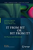 It From Bit or Bit From It?: On Physics and Information (The Frontiers Collection)