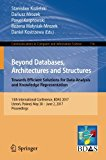 Beyond Databases, Architectures and Structures. Towards Efficient Solutions for Data Analysi...
