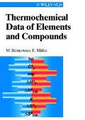 Thermochemical Data of Elements and Compounds