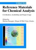 Reference Materials for Chemical Analysis Certification, Availability, and Proper Usage