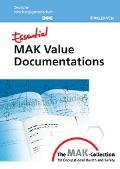 Essential Mak Value Documentations from the Mak-collection for Occupational Health And Safety