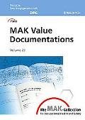 MAK-Collection for Occupational Health and Safety, MAK Value Documentations