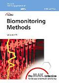 Mak Collection for Occupational Health and Safety Biomonitoring Methods