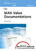 MAK-Collection for Occupational Health and Safety: Part I: MAK Value Documentations, Volume 25