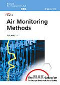 MAK-Collection for Occupational Health and Safety: Part III: Air Monitoring Methods, Volume 11