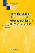 Numerical Solutions of Time-Dependent Advection-Diffusion-Reaction Equations