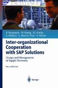 Inter-Organizational Cooperation With Sap Solutions Design and Management of Supply Networks