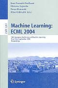 Machine Learning Ecml 2004 15th European Conference On Machine Learning, Pisa, Italy, Septem...