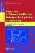 Integration Of Software Specification Techniques For Applications In Engineering Third Inter...