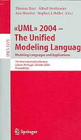 Uml 2004- The Unified Modeling Language Modeling Languages And Applications. 7th Internation...