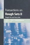 Transactions On Rough Sets Ii Rough Sets And Fuzzy Sets