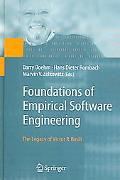 Foundations of Empirical Software Engineering The Legacy of Victor R. Basili