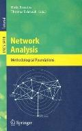 Network Analysis Methodological Foundations