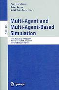 Multi-Agent And Multi-Agent-Based Simulation Joint Workshop MABS 2004 New York, NY, USA, Jul...