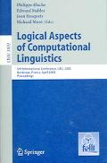 Logical Aspects of Computational Linguistics 5th International Conference, LACL 2005, Bordea...