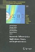 Automatic Differentiation Applications, Theory, And Implementations