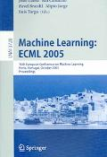 Machine Learning EMCL 2005 16th European Conference on Machine Learning, Porto, Portugal, Oc...