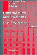 Universal Joints And Driveshafts Analysis, Design, Applications