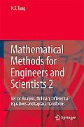 Mathematical Methods for Engineers And Scientists 2 Vector Analysis, Ordinary Differential E...