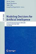 Modeling Decisions for Artificial Intelligence Third International Conference, Mdai 2006, Ta...