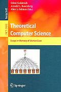 Theoretical Computer Science Essays in Memory of Shimon Even