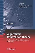 Algorithmic Information Theory Mathematics of Digital Information Processing