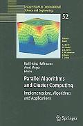 Parallel Algorithms And Cluster Computing Implementations, Algorithms And Applications
