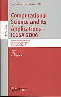 Computational Science And Its Applications-iccsa 2006 International Conference, Glasgow, Uk,...