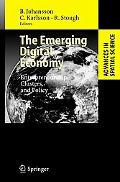 Emerging Digital Economy Entrepreneurship, Clusters, And Policy
