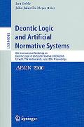 Deontic Logic And Artificial Normative Systems 8th International Workshop on Deontic Logic i...