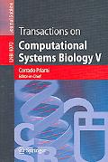Transactions on Computational Systems Biology V
