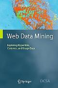 Web Data Mining Exploring Hyperlinks, Contents, and Usage Data