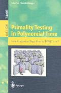 Primality Testing in Polynomial Time From Randomized Algorithms to